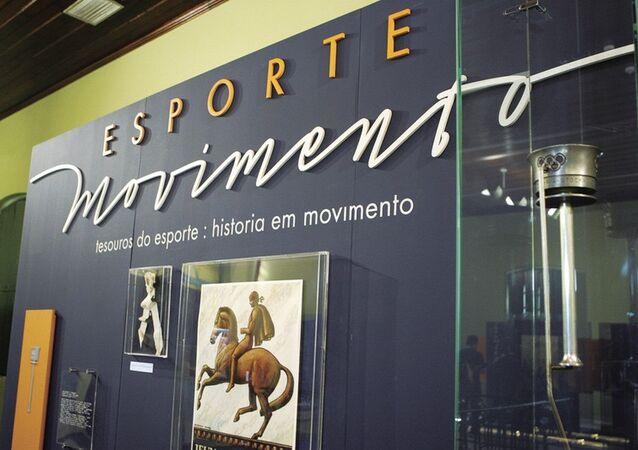 Exposição 'Esporte Movimento' na Caixa Cultura RJ