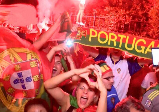 Portugal leva a copa, e França fica triste