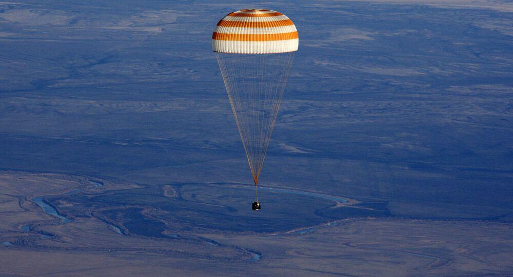 Módulo de retorno da nave Soyuz TMA-12