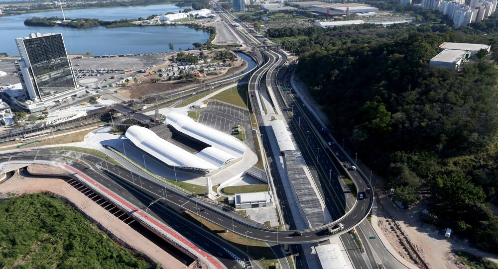 Transolímpica, primeira via expressa do Rio com BRT