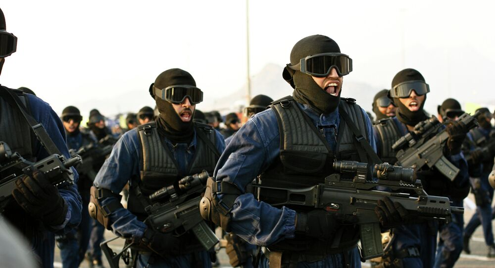 Parada militar na Arábia Saudita
