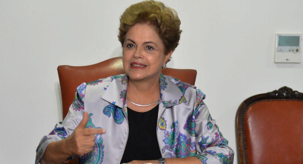 Dilma Rousseff, presidente do Brasil.