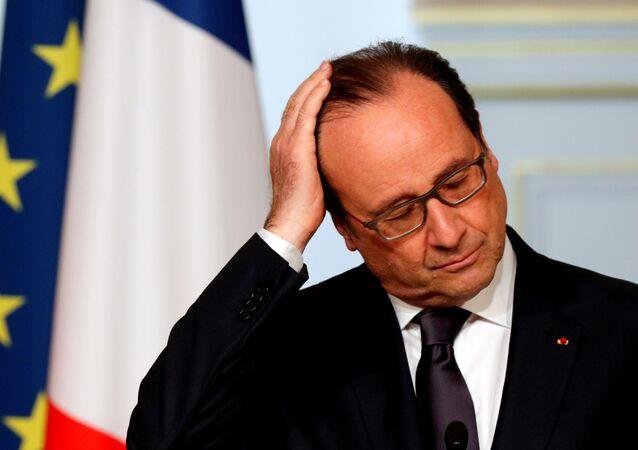 Presidente da França, François Hollande (arquivo)