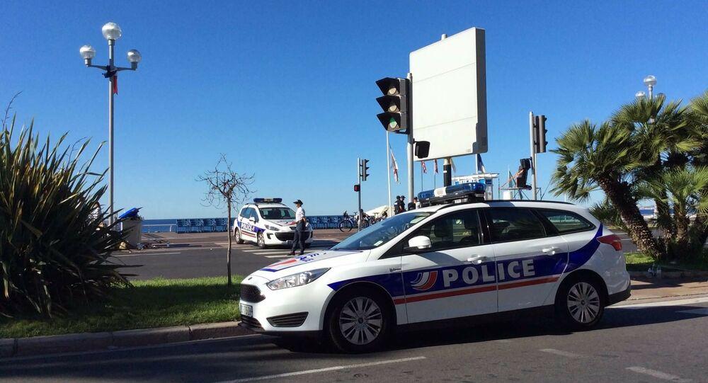 Polícia em Nice