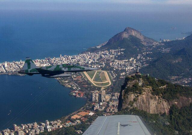 Treinamento de Interceptação da FAB no Rio