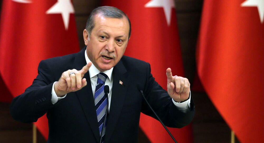 Presidente da Turquia, Recep Tayyip Erdogan (Arquivo)