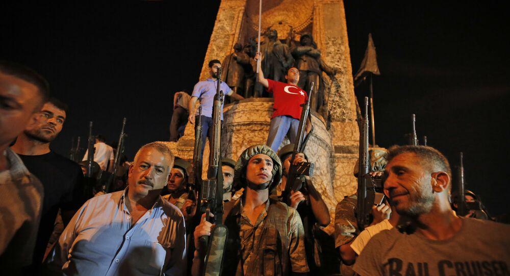 Tentativa de golpe militar na Turquia