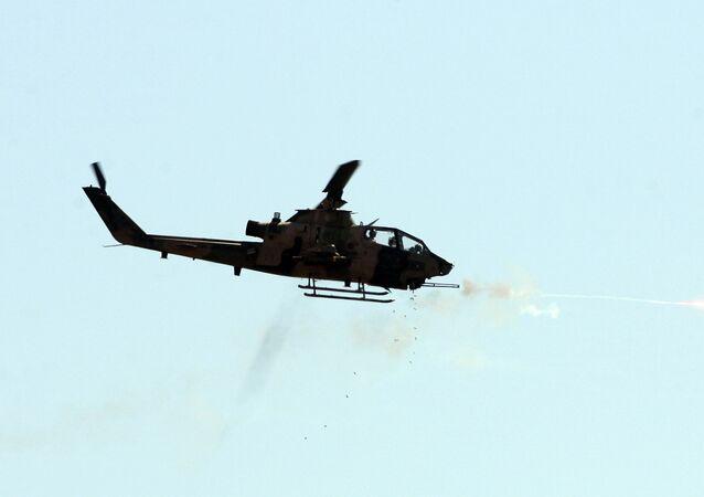O helicóptero de combate turco Cobra