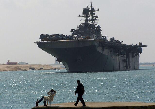 USS Iwo Jima (foto de arquivo)