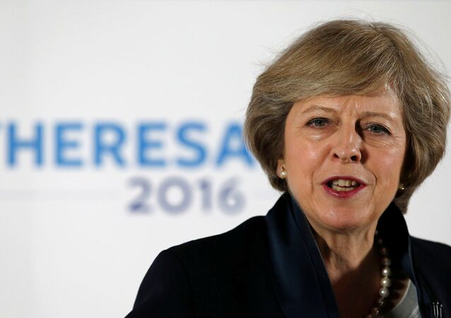 Primeira-ministra britânica Theresa May