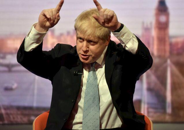 Boris Johnson discursa no BBC, março de 2016