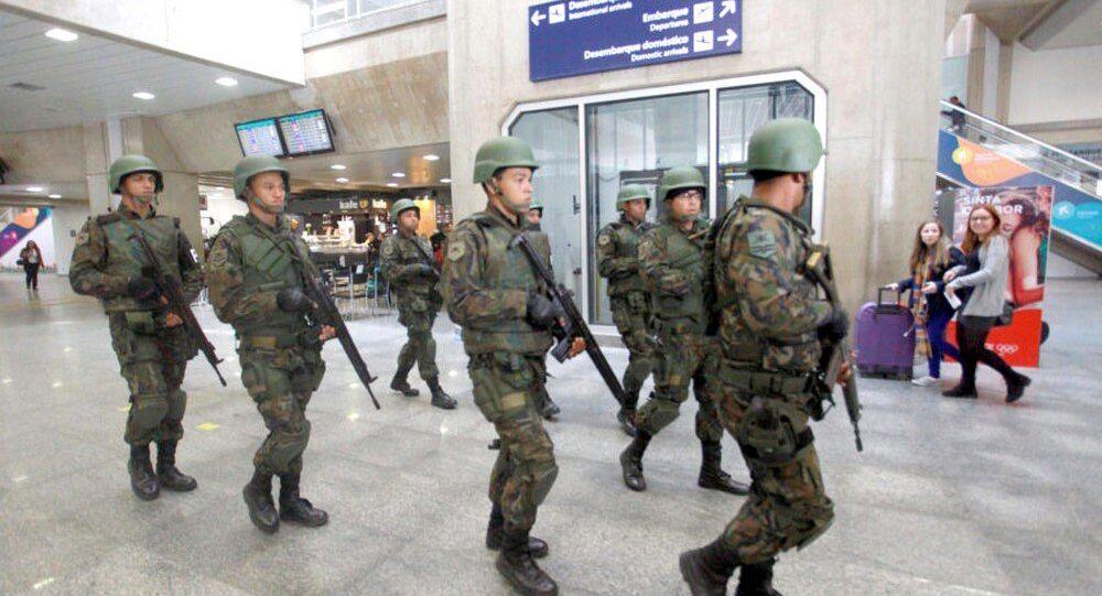 Aeroporto Internacional do Galeão recebe exercício de segurança para os Jogos Rio 2016