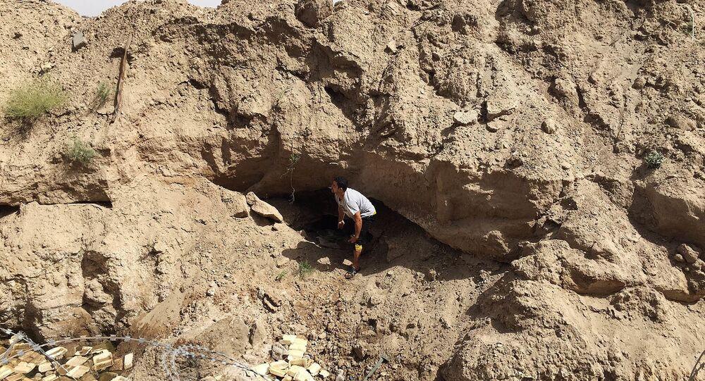 Para ilustração: Túnel feito por terroristas do Daesh no Iraque. Foto de arquivo 8 de junho, 2016