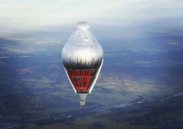 Balão de Fyodor Konyukhov
