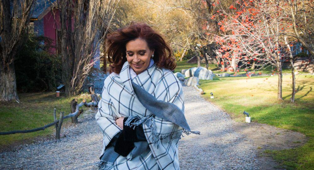 A ex-presidenta da Argentina, Cristina Kirchner