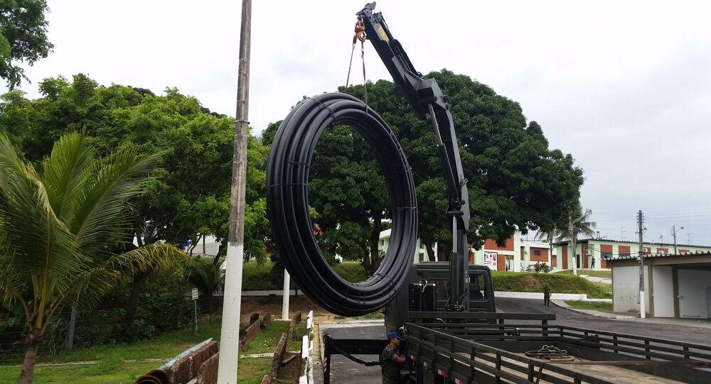 Exército utilizará cabos de fibra ótica subfluviais para conectar cidades ribeirinhas do interior da Amazônia