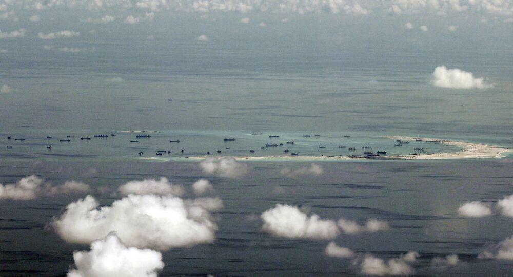 Mar do Sul da China.