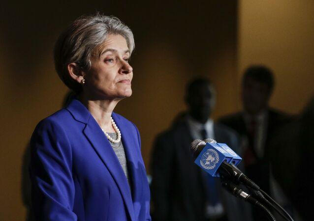 Diretora-geral da UNESCO, Irina Bokova