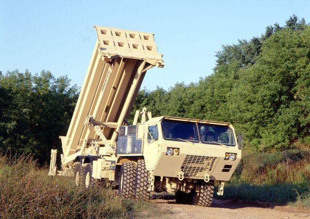 O sistema estadunidense da defesa antimíssil THAAD