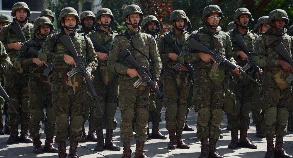 Tropas das Forças Armadas que atuarão na Rio 2016