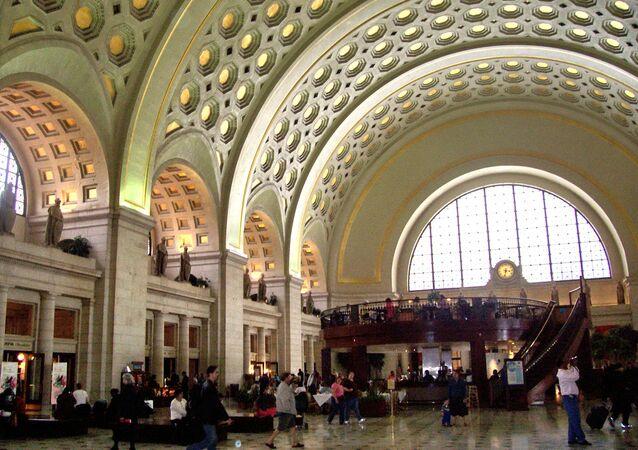 Terminal ferroviário Union Station, em Washington, EUA
