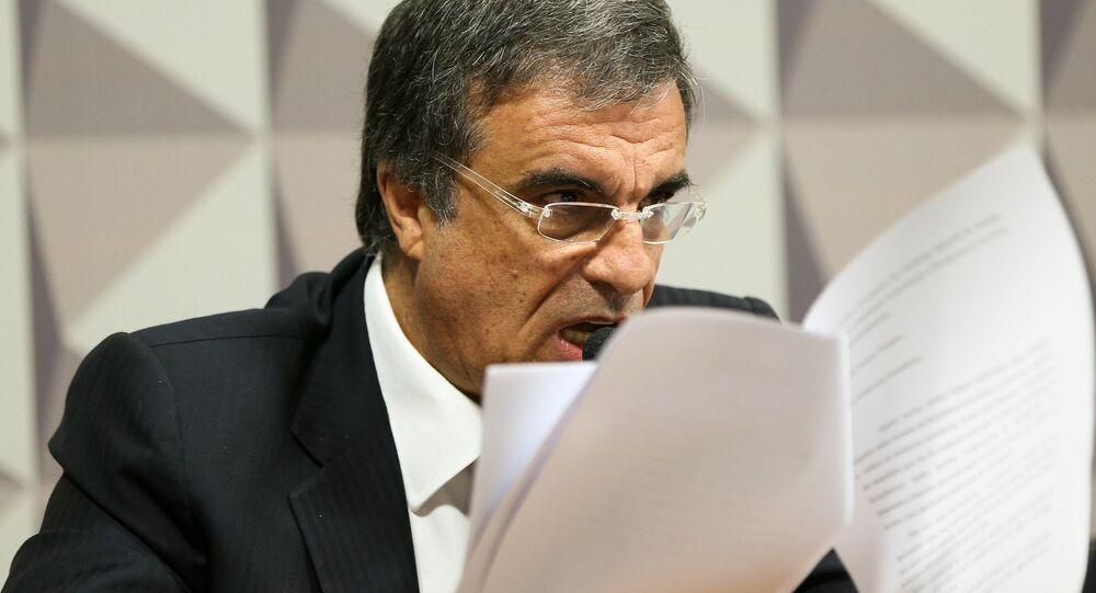 José Eduardo Cardoso na Comissão de Impeachment