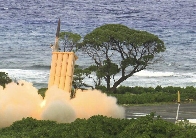 O sistema de defesa antiaérea THAAD