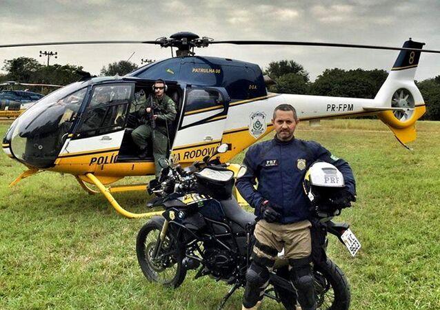Polícia Rodoviária Federal em ação