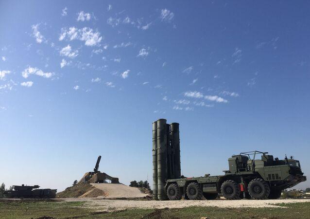 Sistema da defesa antiaérea S-400