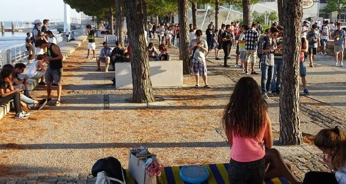 1ª Caminhada Pokémon Go, Lisboa, Portugal 29 de julho 2016