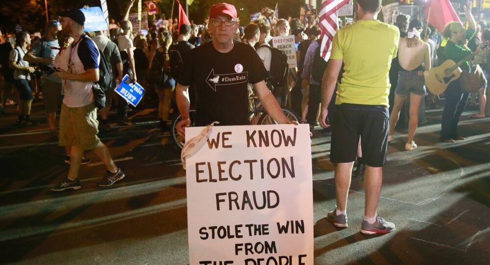 Ações de protesto na Filadélfia