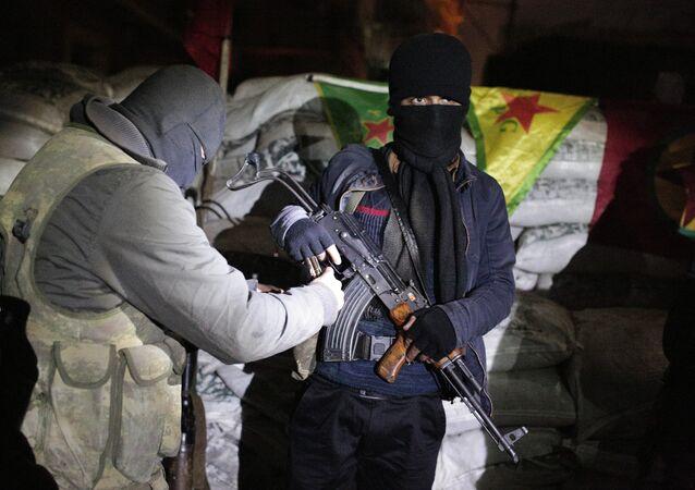 Militantes do PKK na Turquia