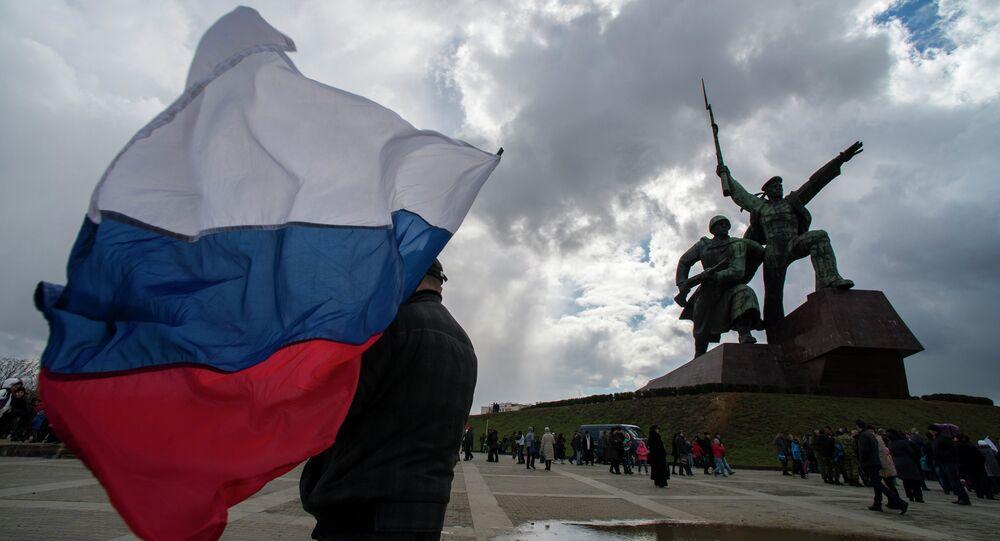 Celebrações na Crimeia