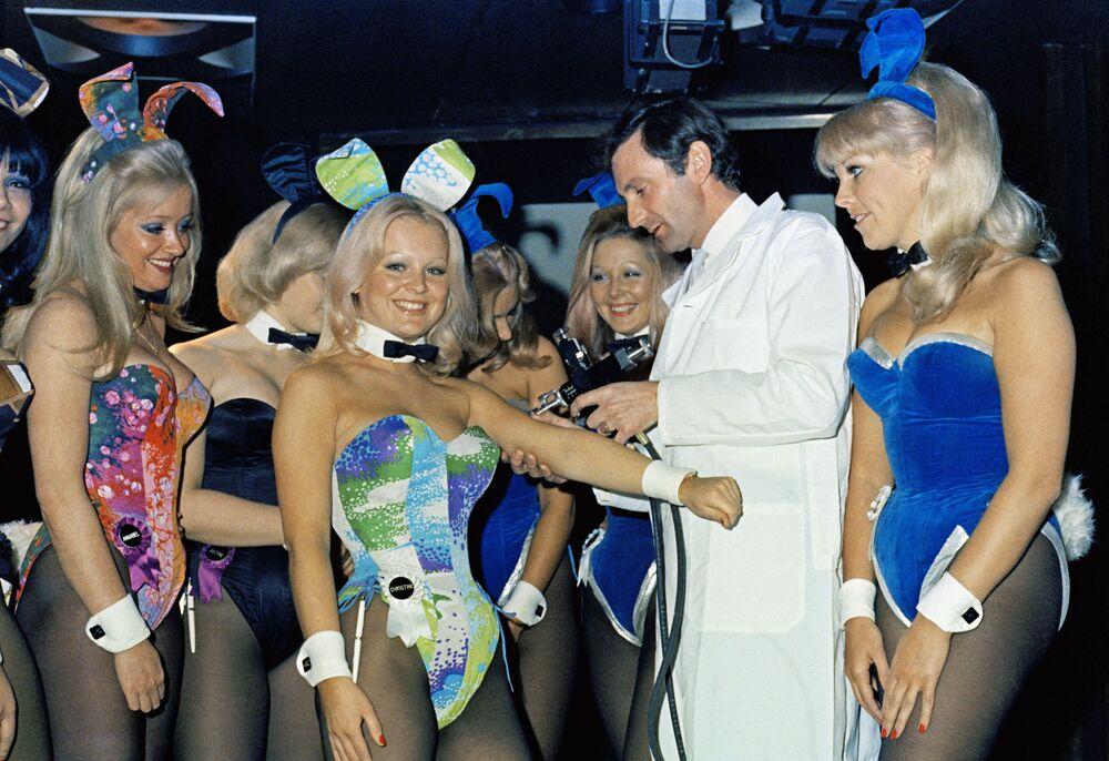 Playboy Club festeja seu 50º aniversário