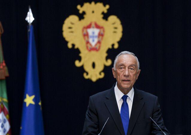 Presidente de Portugal Marcelo Rebelo de Sousa
