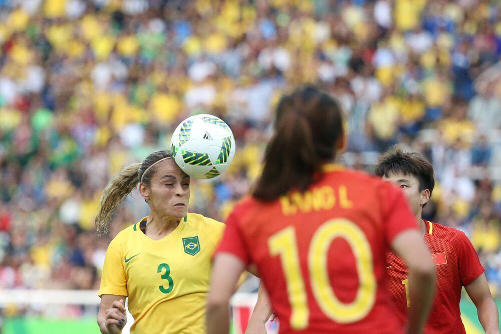 Olimpíada Rio-2016: Brasil x China