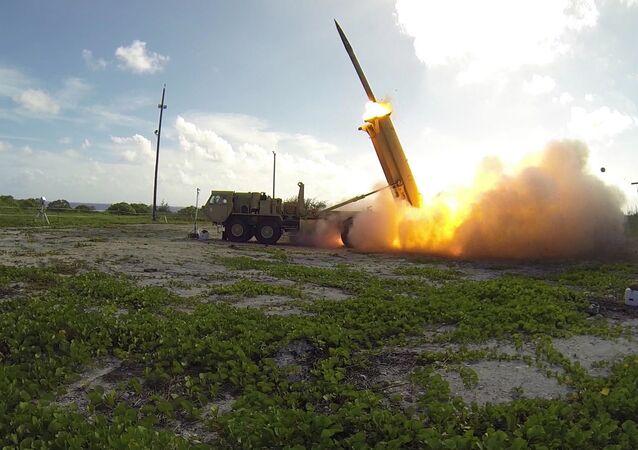 Sistema da defesa antimíssil THAAD