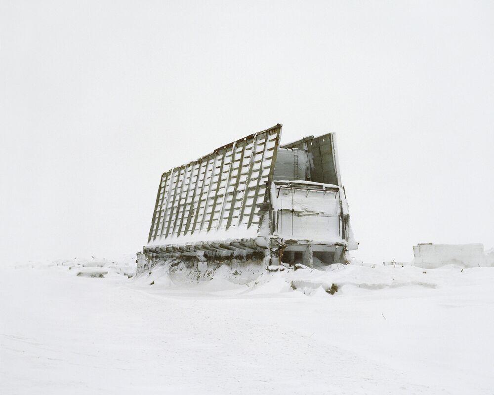 Parte de um cosmódromo inacabado
