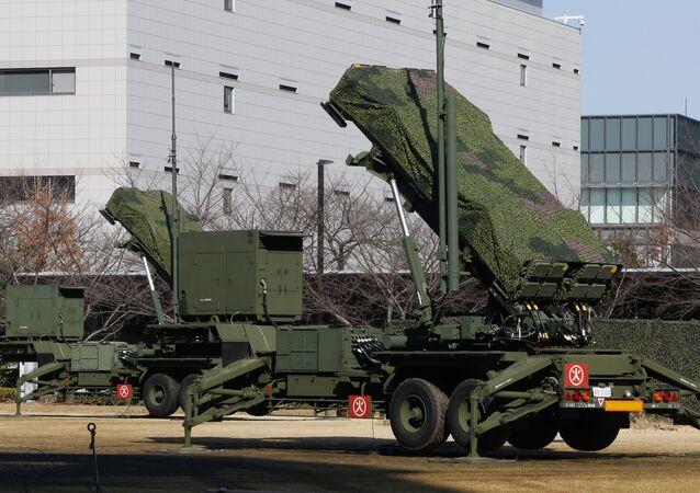 Sistema da defesa antimíssil PAC-3