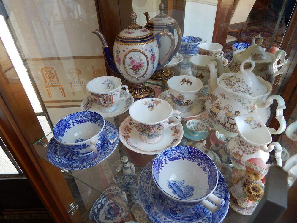 Porcelana russa do Dona Irene