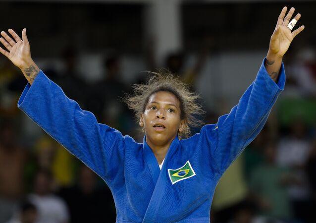 Judoca brasileira Rafaela Silva