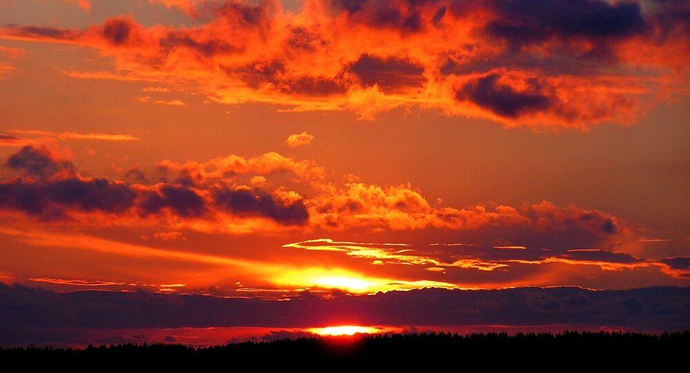 O por do Sol (Archivo)