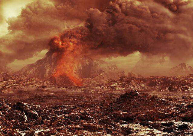 Superfície do planeta Vênus