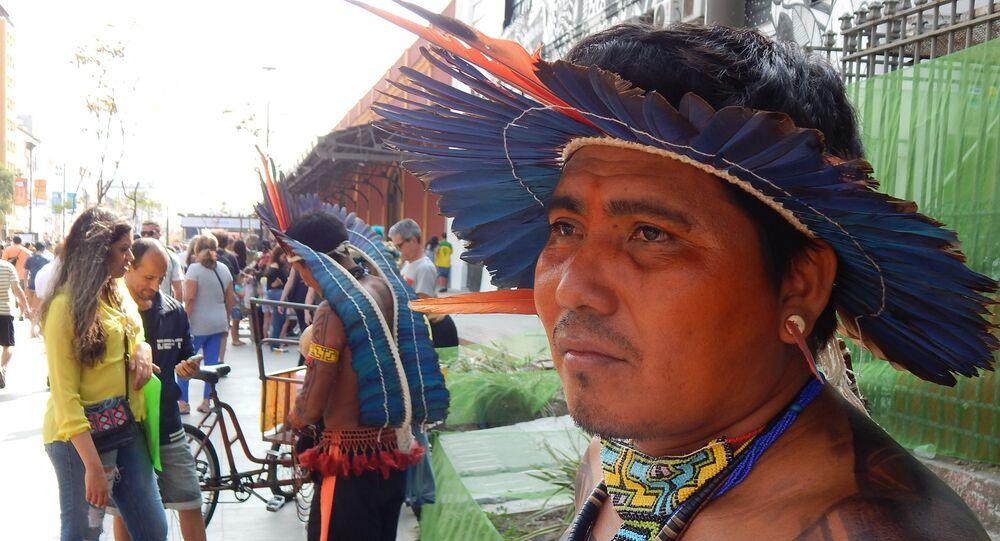 Índio no Porto Maravilha