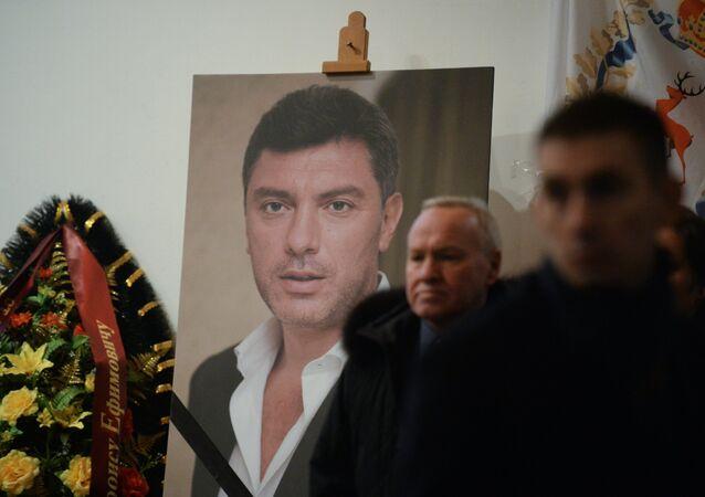 Сerimônia fúnebre do político Boris Nemtsov