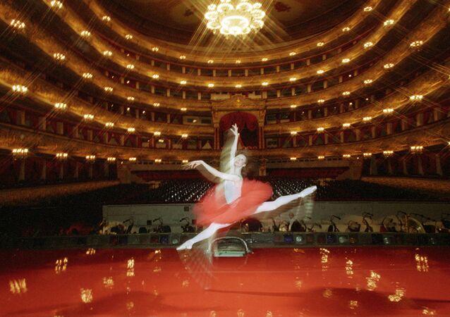 Teatro Bolshoi Bailarina