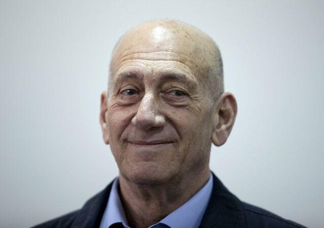 Ehud Olmert, ex-premiê de Israel.