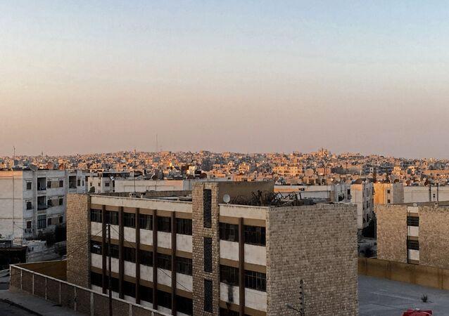 Um dos bairros da cidade de Aleppo, 1 de outubro de 2016