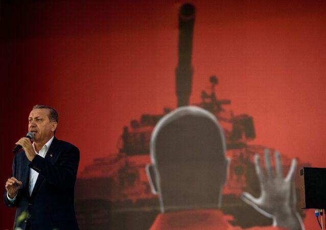 Presidente de Turquia Recep Tayyip Erdogan