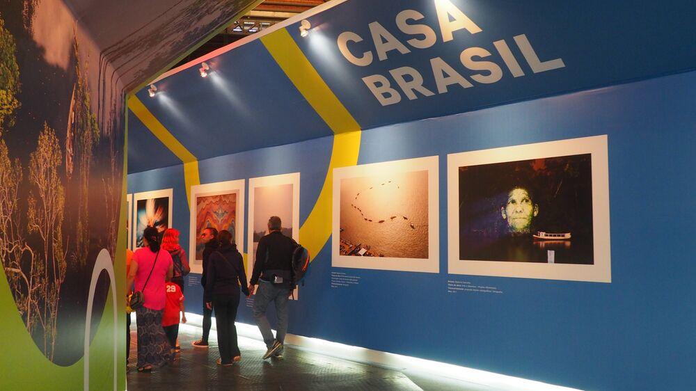 Galeria da Casa Brasil